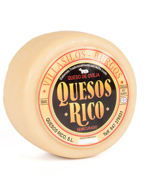 quesos rico - queso semicurado